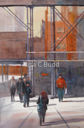 Under Construction by Lisa C Budd, AWS