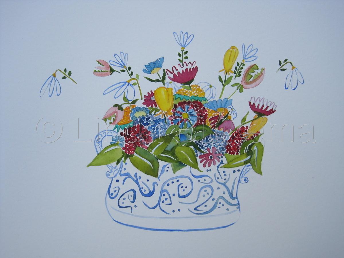 Floral Bowl (large view)