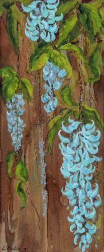 BLUE JADE VII by Liedeke Bulder