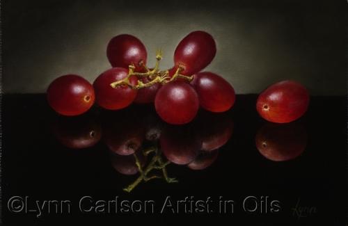 Grapes Reflected II