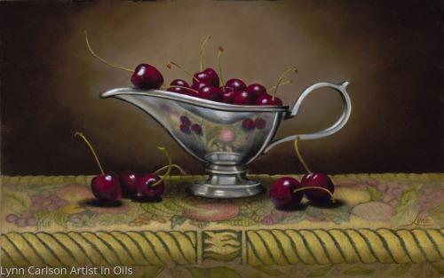 Living on the Edge by Lynn Carlson Artist in Oils