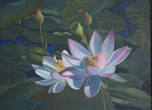water lotus by Linda C. Eichhorn