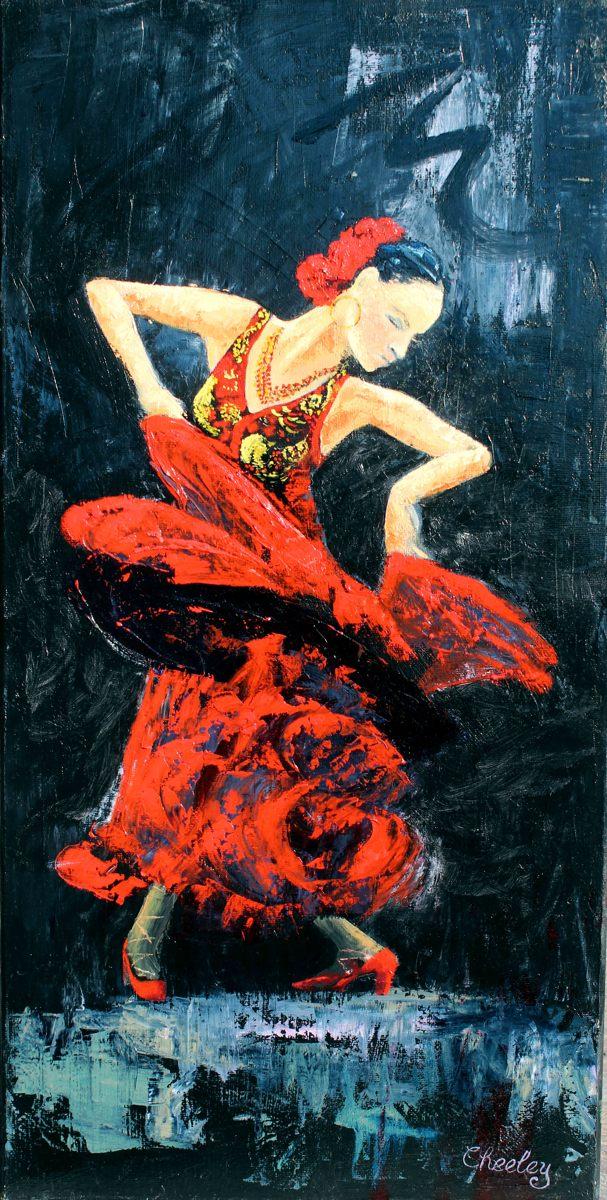 Flamenco Dancer 1 (large view)