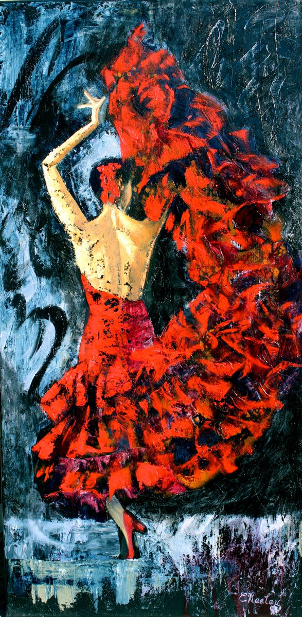 Flamenco Dancer (large view)