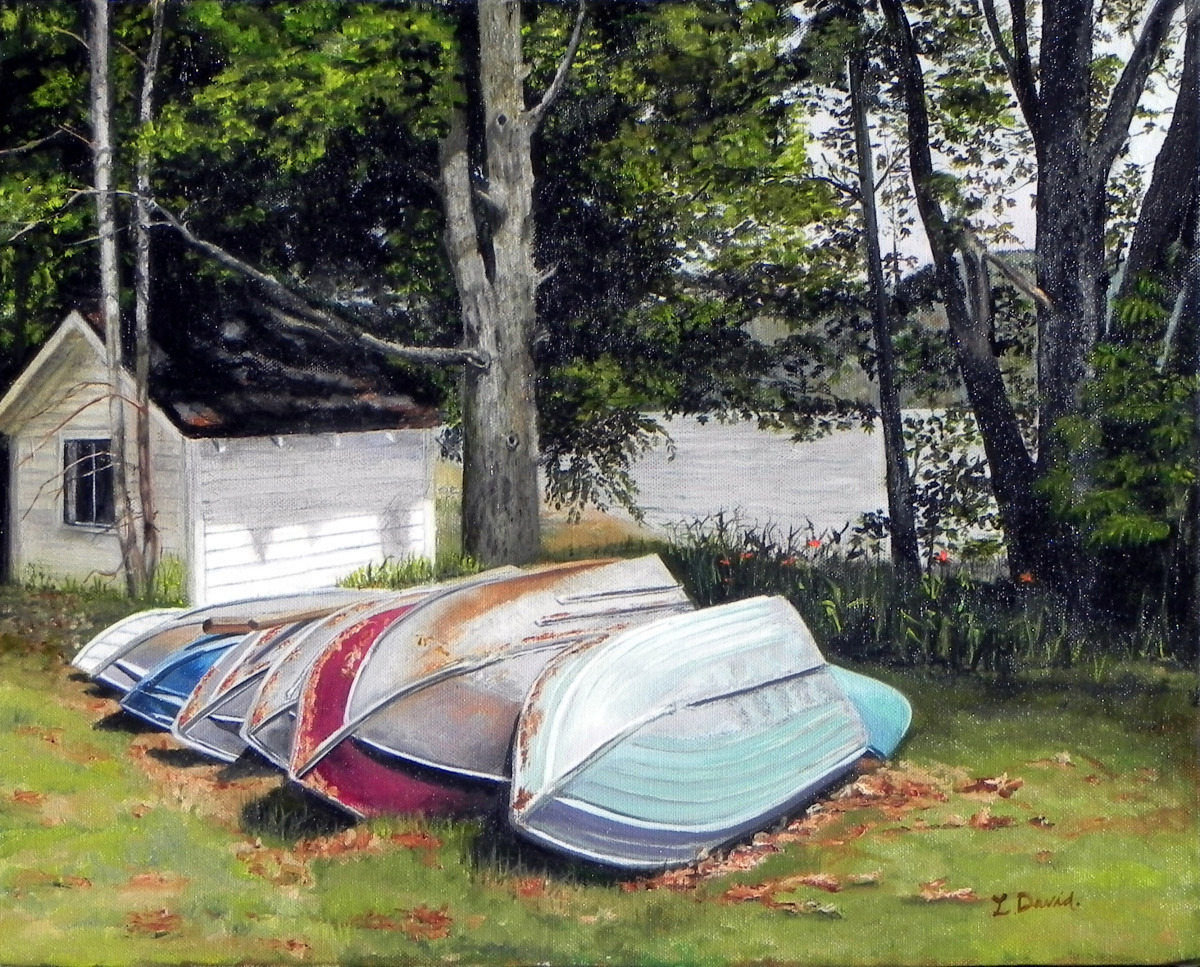 Schroon Lake Boats (large view)