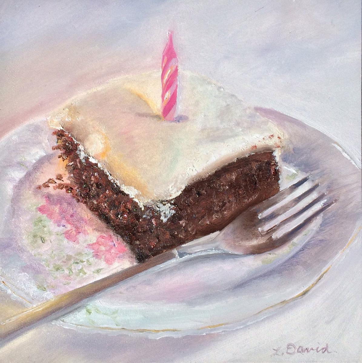 Wacky Birthday Cake (large view)