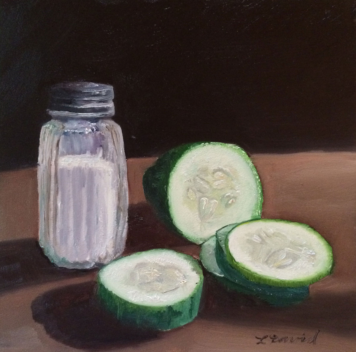 Salty Cucumbers (large view)