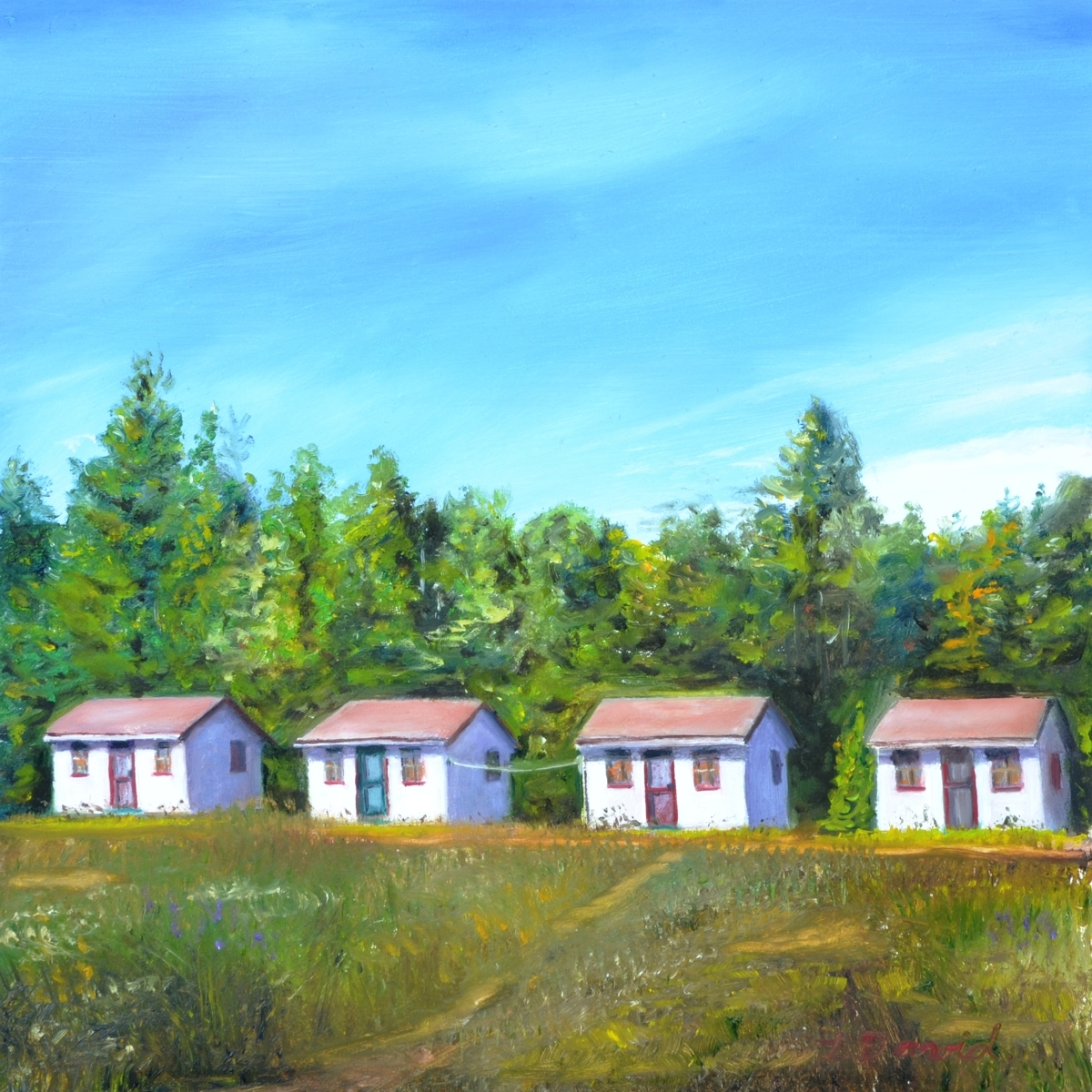 Four Cottages (large view)