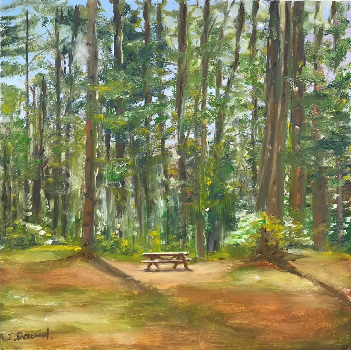 Picnic in the Pines (large view)