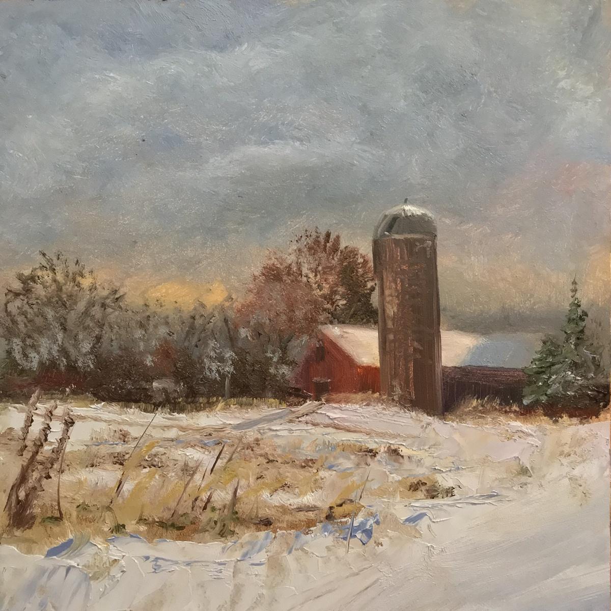 Barn & Silo (large view)