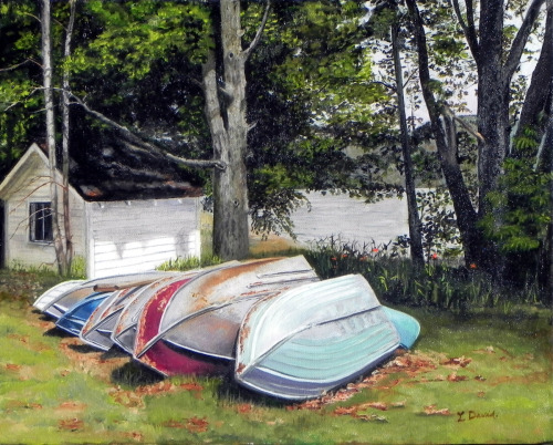 Schroon Lake Boats