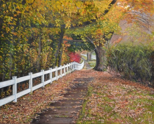 Around the Bend by Lisa  David Art
