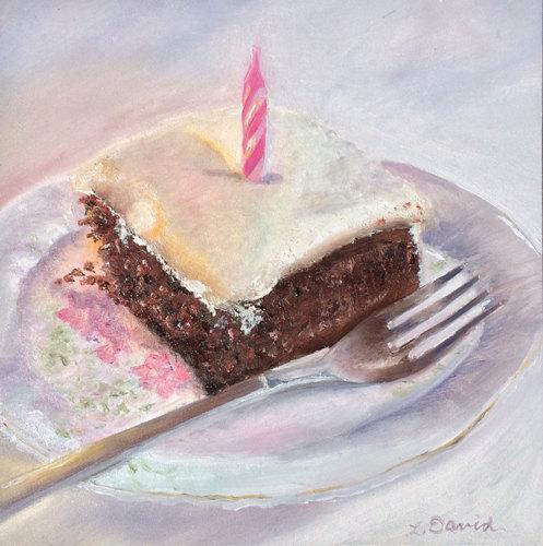 Wacky Birthday Cake