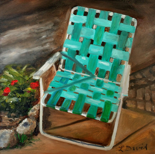 Mom's Chair by Lisa David