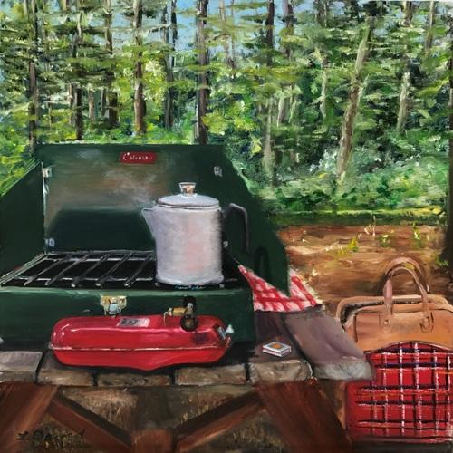 Adirondack Coleman Stove