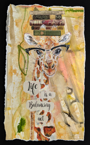 Life is a Balancing Act by The Art of Laura Davidson