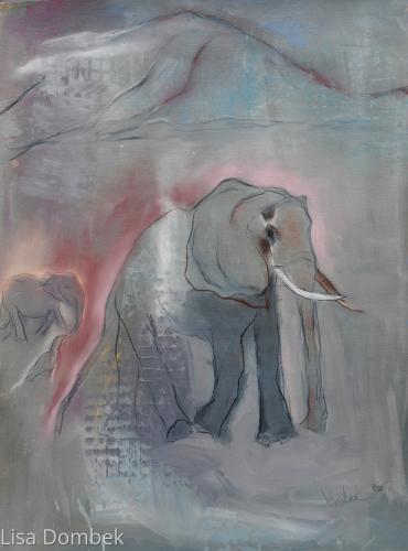 She Walks - Elephant series