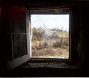 Orrs House Window by Peggy Hartzell (thumbnail)