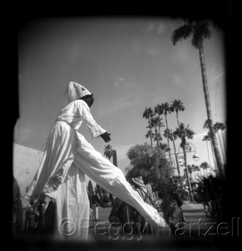 Stilt walker, ,AZ by Peggy Hartzell