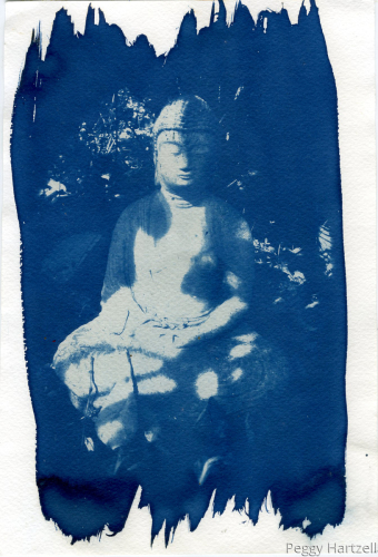 Blue Buddha (large view)