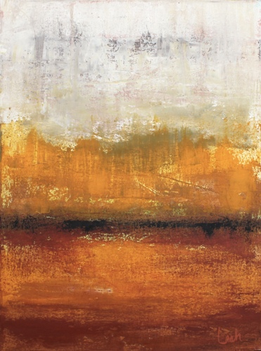 Gold Dusk  by Leah Fitts
