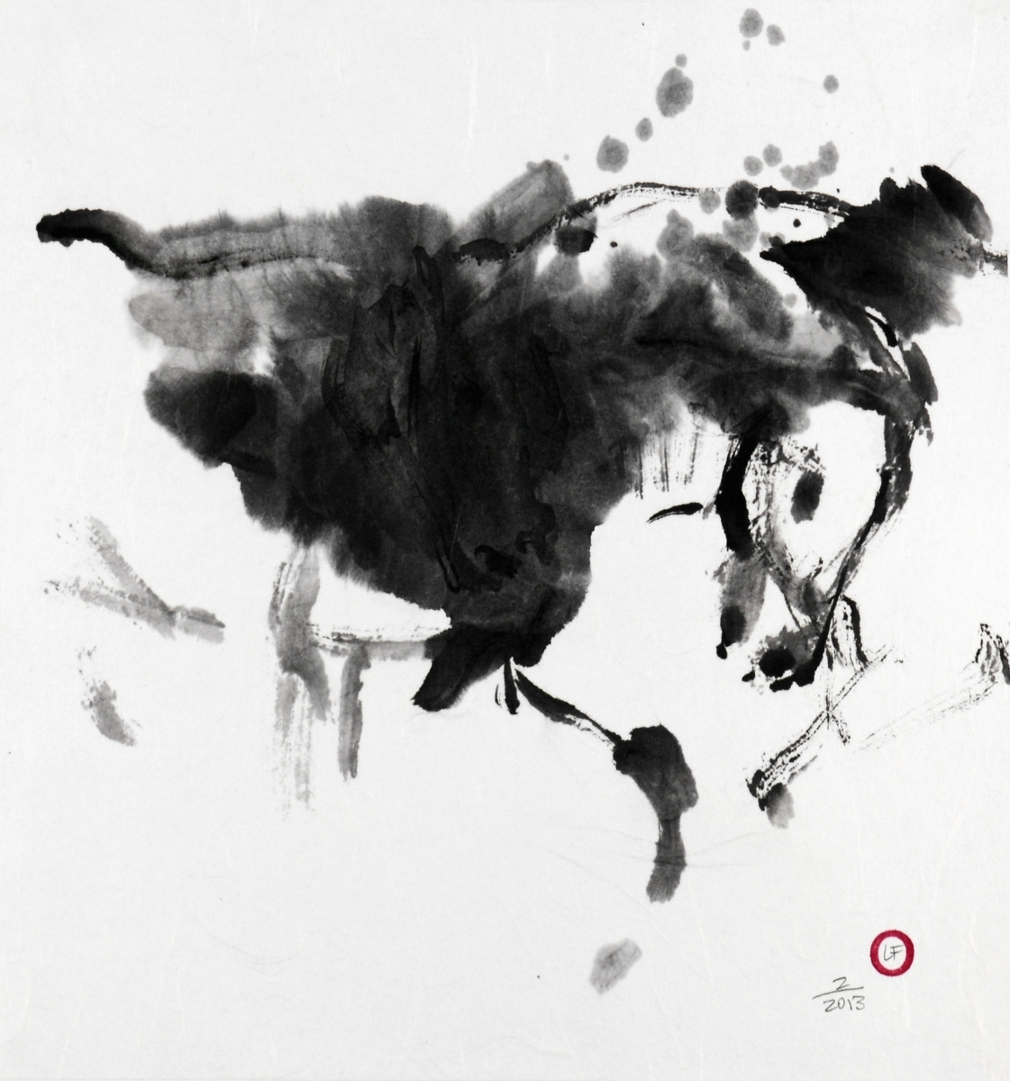 Horse sketch (large view)