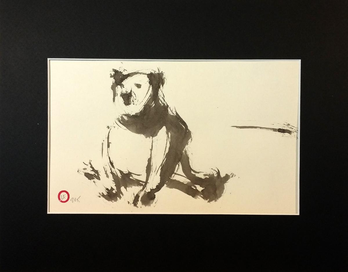 Sitting bear (large view)