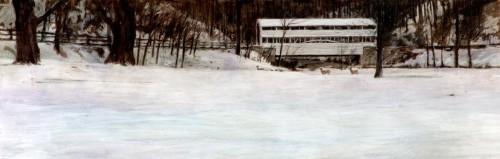 Knox bridge in snow (large view)