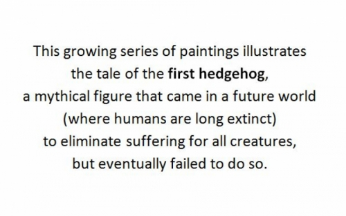The Tale of the First Hedgehog (large view)