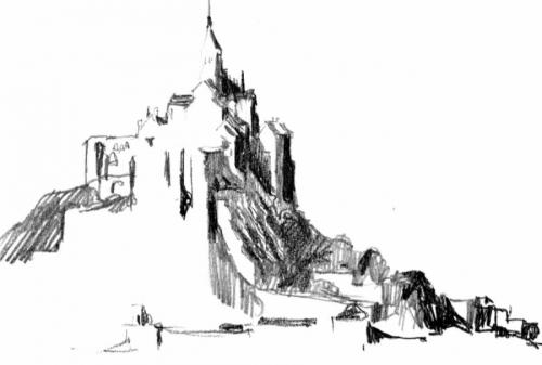 Mont Saint Michel (large view)