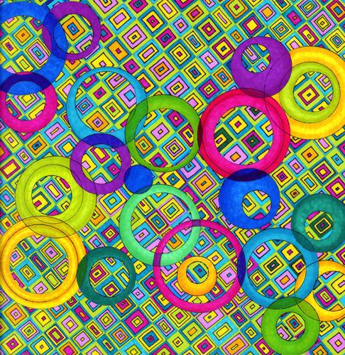 Pattern Series: Circlin' Around (large view)