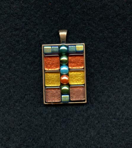 Modern Mosaic Pendant