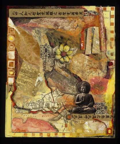 Buddha map by Lee Goldberg