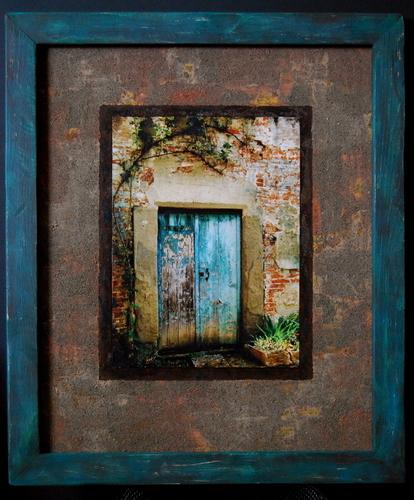 Weathered door - Cinque Terre