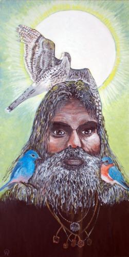 Shams Of Tabriz With Birds