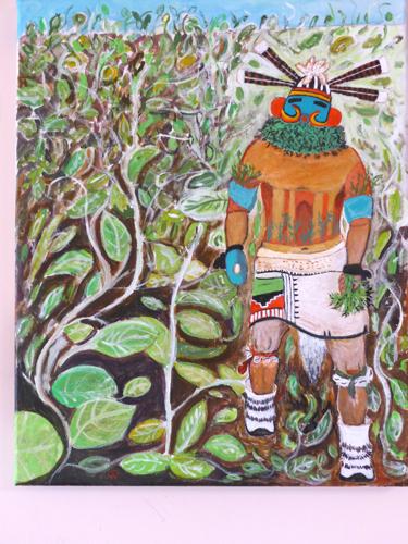 Muzribi - Hopi Bean Kachina