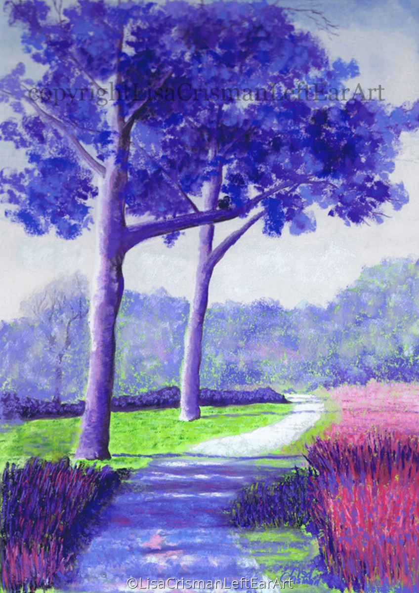 """""""Dancing Trees"""" (large view)"""