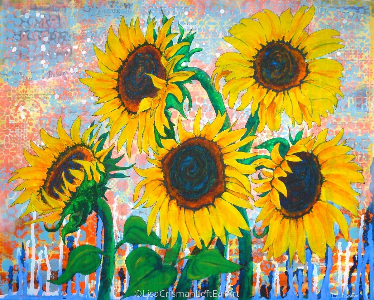 Joy of Sunflowers Desiring (large view)
