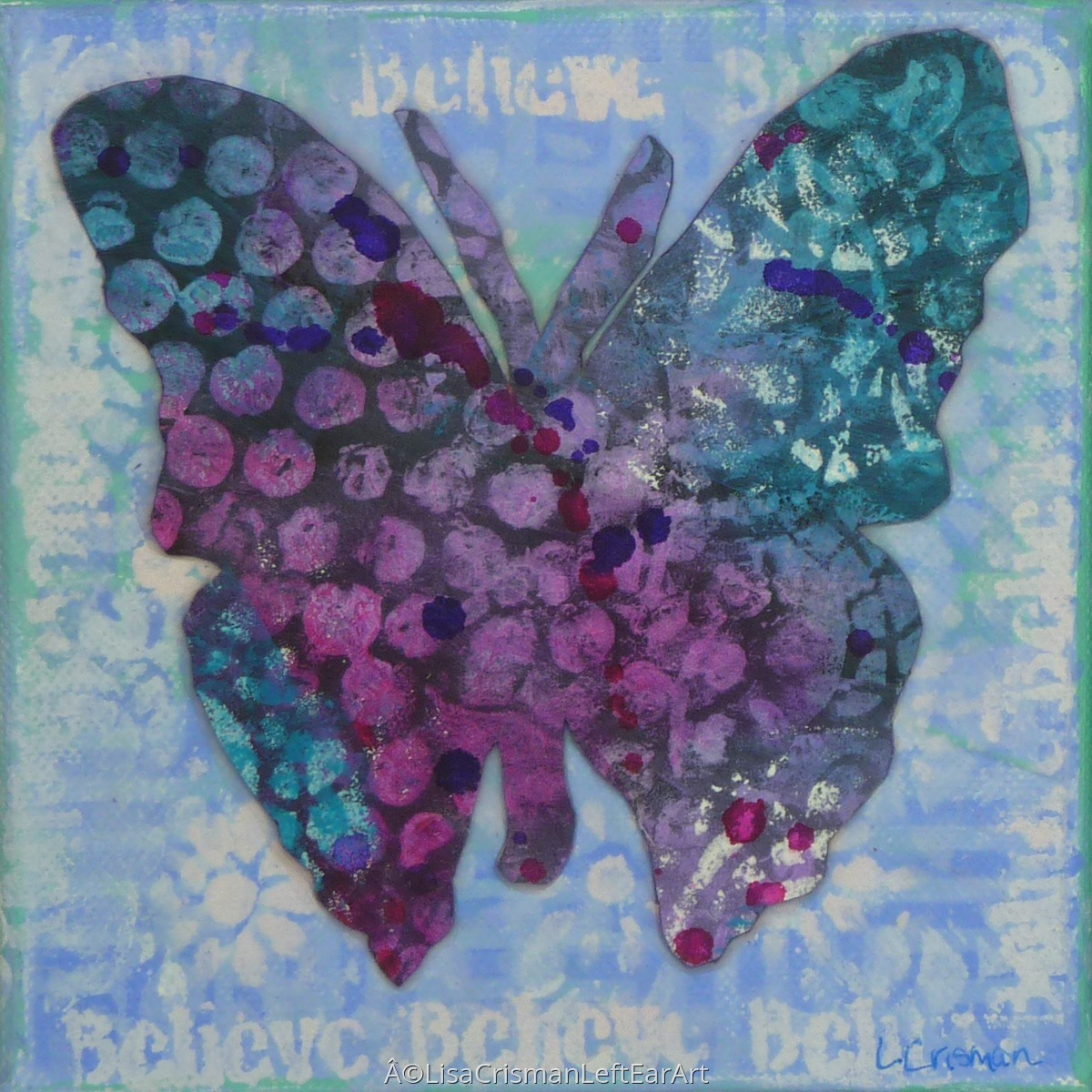 Believe Butterfly (large view)