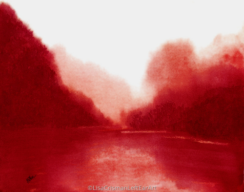 The Hush of Crimson Lake