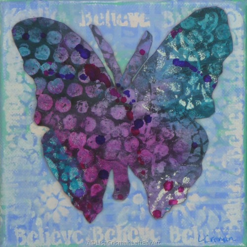 Believe Butterfly