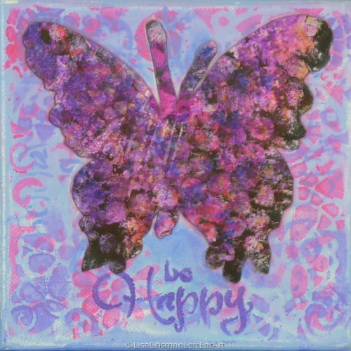 Be Happy Butterfly 2