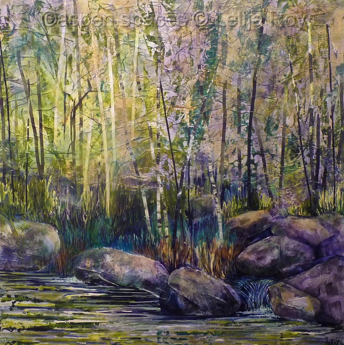 Sawmill Creek Trail 36x36 (large view)