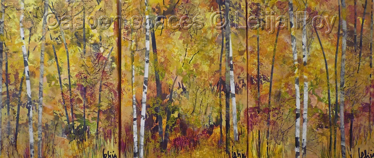 Autumn Chimes (triptych) 12x27 (large view)