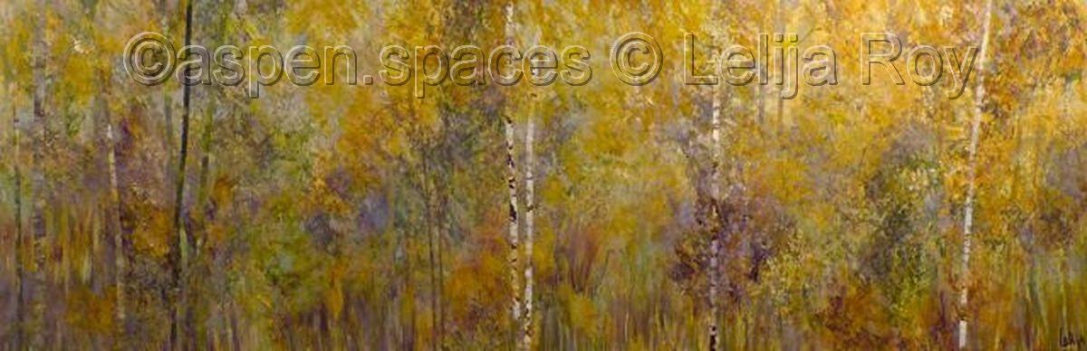 Edge of Twilight 20x60 © lelija Roy (large view)