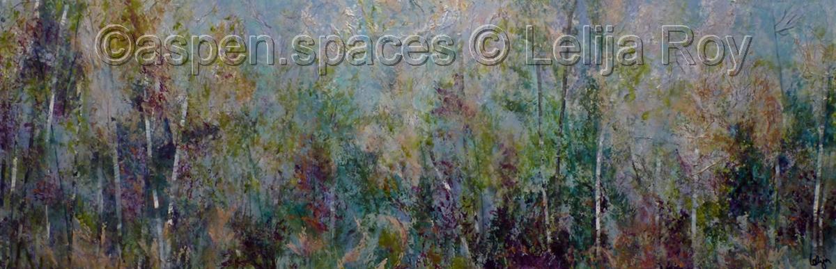 Orchard Ballet 20x60 © Lelija Roy (large view)