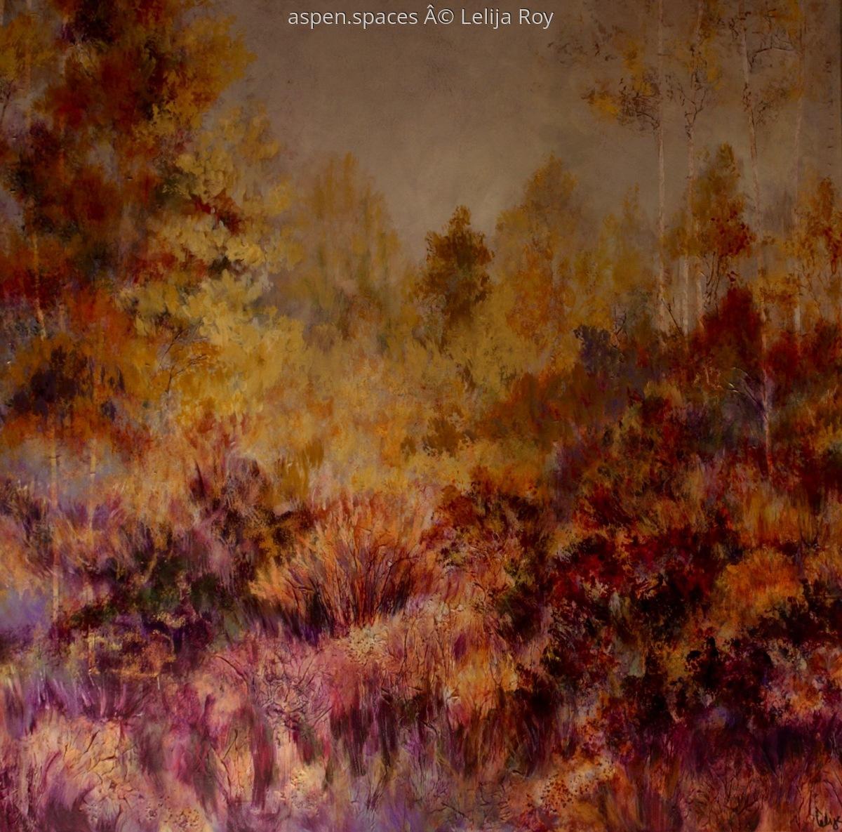 Edge of a Dream 48x48 © Lelija Roy (large view)