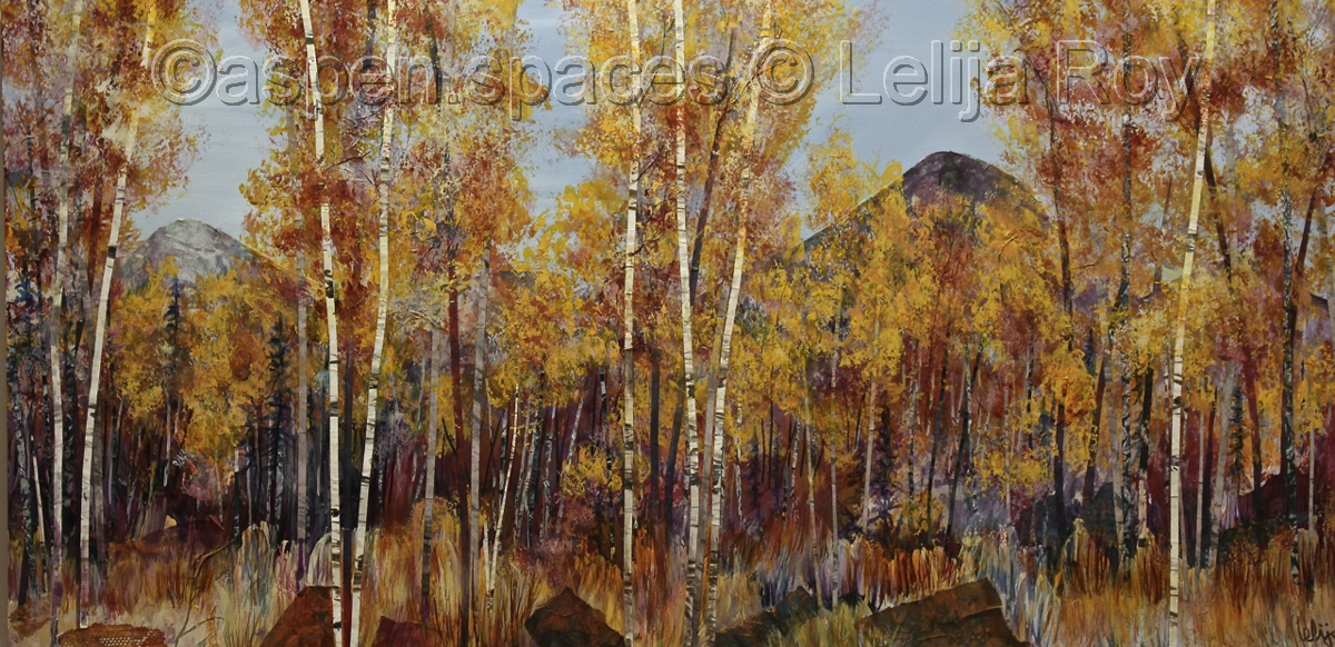 Peak of the Season 24x48 © Lelija Roy (large view)