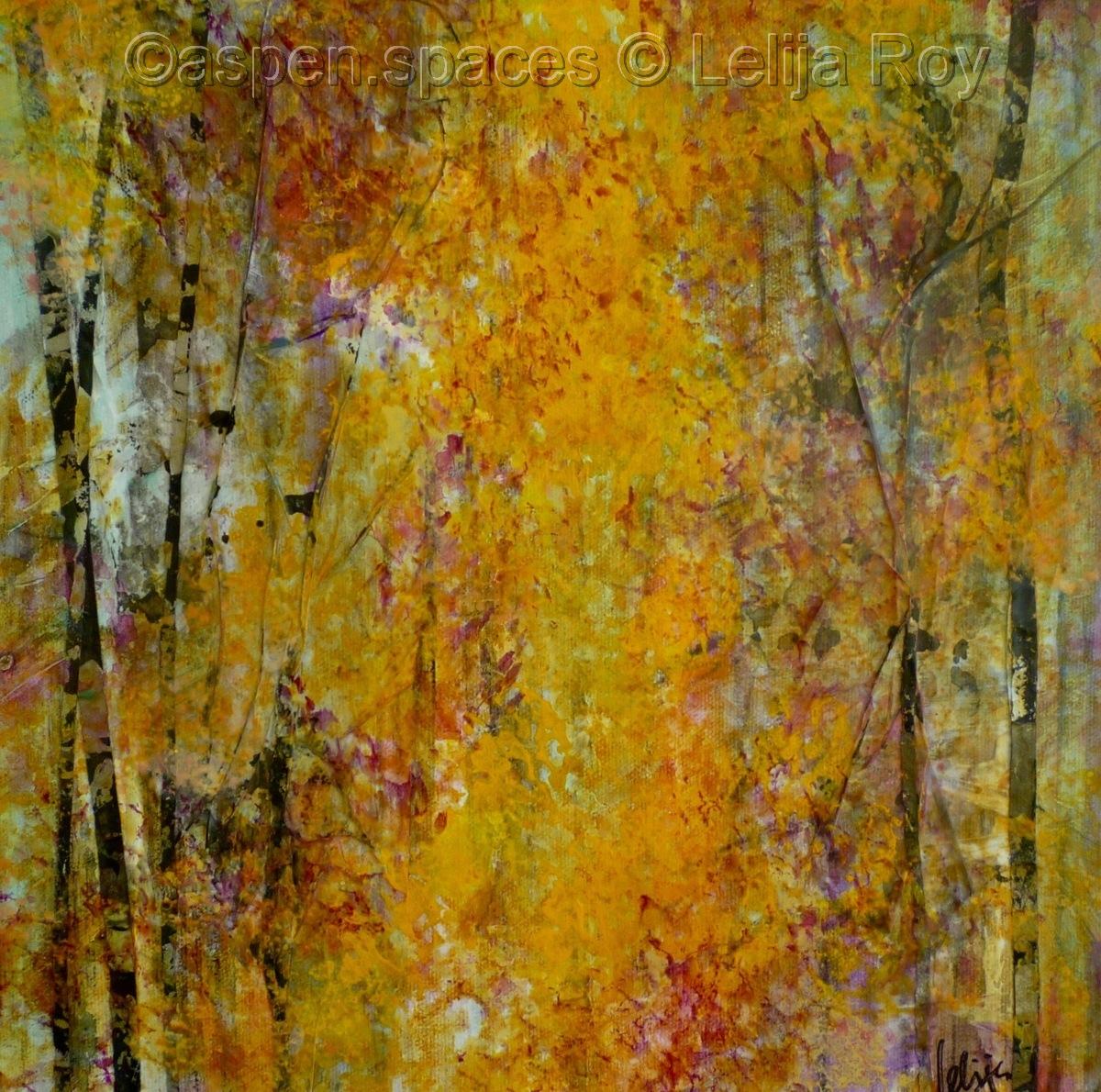 Golden Confetti 12x12 (large view)