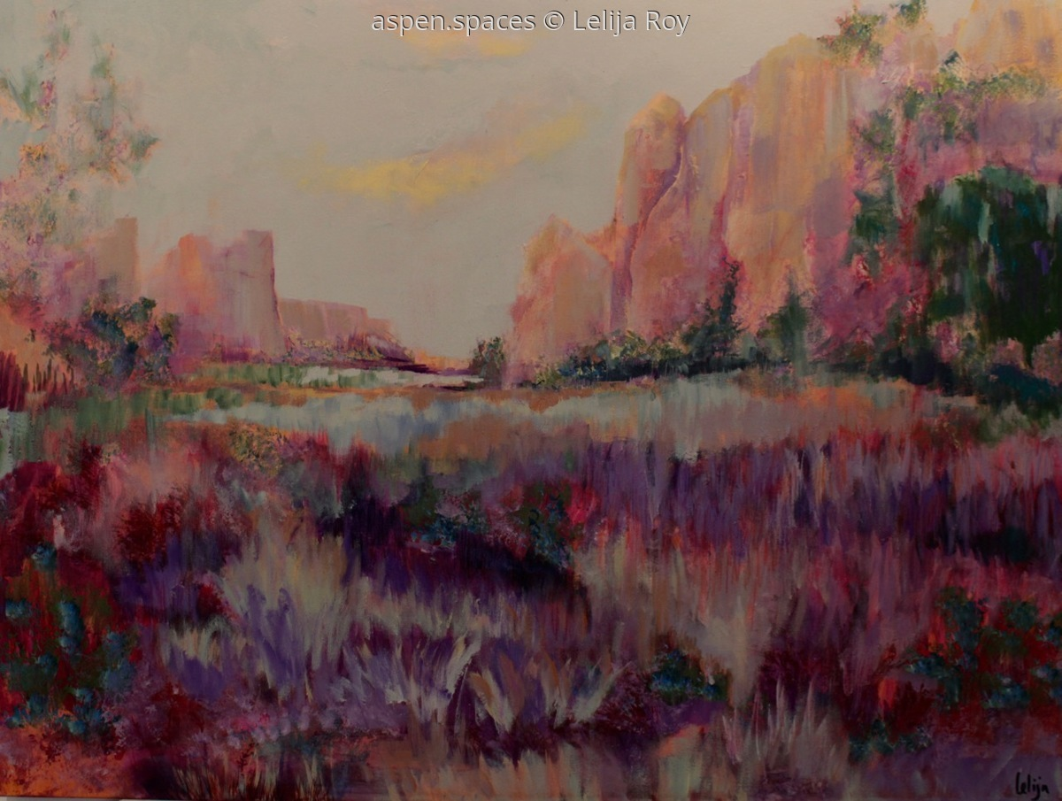 Following Her Trail 30x40 (c) Lelija Roy (large view)